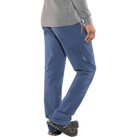 "Columbia Titan Peak Pantaloni 32"" Uomo, carbon/heatwave"